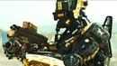 Макс с людьми Паука сбивают корабль Карлайла. Элизиум: Рай не на Земле (2013) год.
