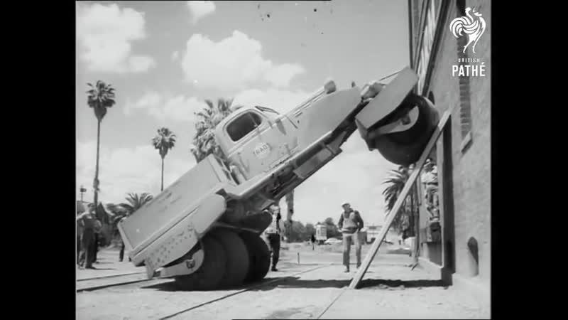 США Монтерей 1951 пневмоходы Билла Олби