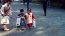 Japanese kids dressed in traditional kimonos - very cute