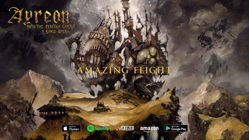 Ayreon Amazing Flight Into The Electric Castle 1998