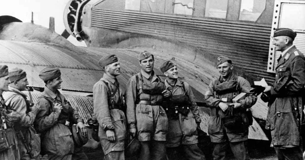 Немецкие десантники