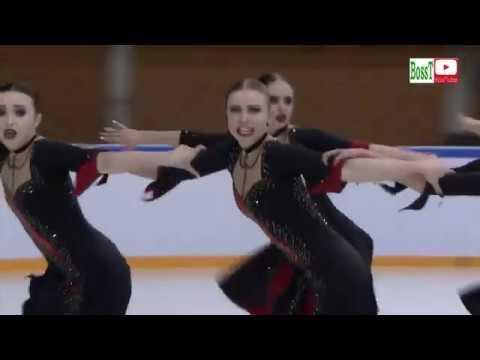 Team CRYSTAL ICE Junior Rus FP Synchro JWC 2019