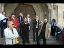 Protest gegen islamischen Anschlag auf Münchner Paulskirche - Andreas Reuter