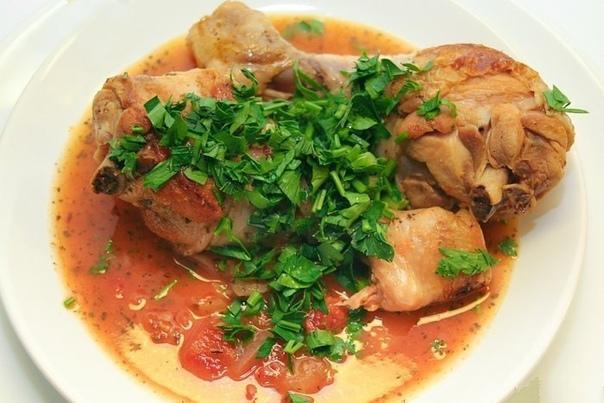 Чахохбили. Очень вкусное грузинское блюдо!