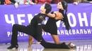 Sharif Mirhanov Anna Dolgopolova Pasodoble 2019 RDU Championship Youth Latin