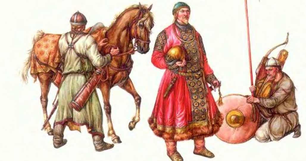 Воины половцев
