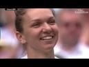 Simona Halep stuns Serena Williams to win first Wimbledon title