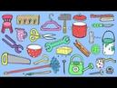 Deutsch lernen: 75 Haushaltsgegenstände – 75 household items - German for children beginners