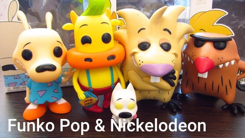 Фигурки Funko Pop! Nickelodeon. Новая жизнь Рокко и Крутые бобры