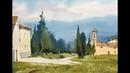 БЕСПЛАТНО! Рисуем летний пейзаж. Мастер-класс по акварели, художник Сергей Курбатов.