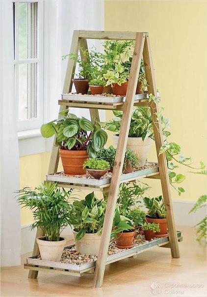 Лестницы в саду