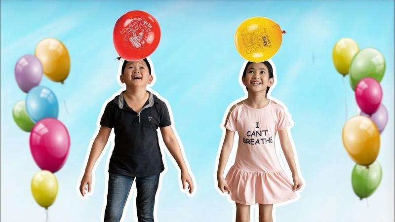 Đồ Chơi Trẻ Em Bé Chơi Bóng Bay - Bài Học Cho Bé ♥ Xam Xam TV