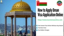 Apply Oman Visa Online Oman e Visa Application Online Oman Tourist Visa omanvisa