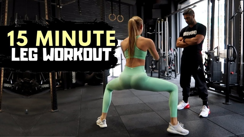 15 Minute LEG Workout - Fitness Series With Romee Strijd