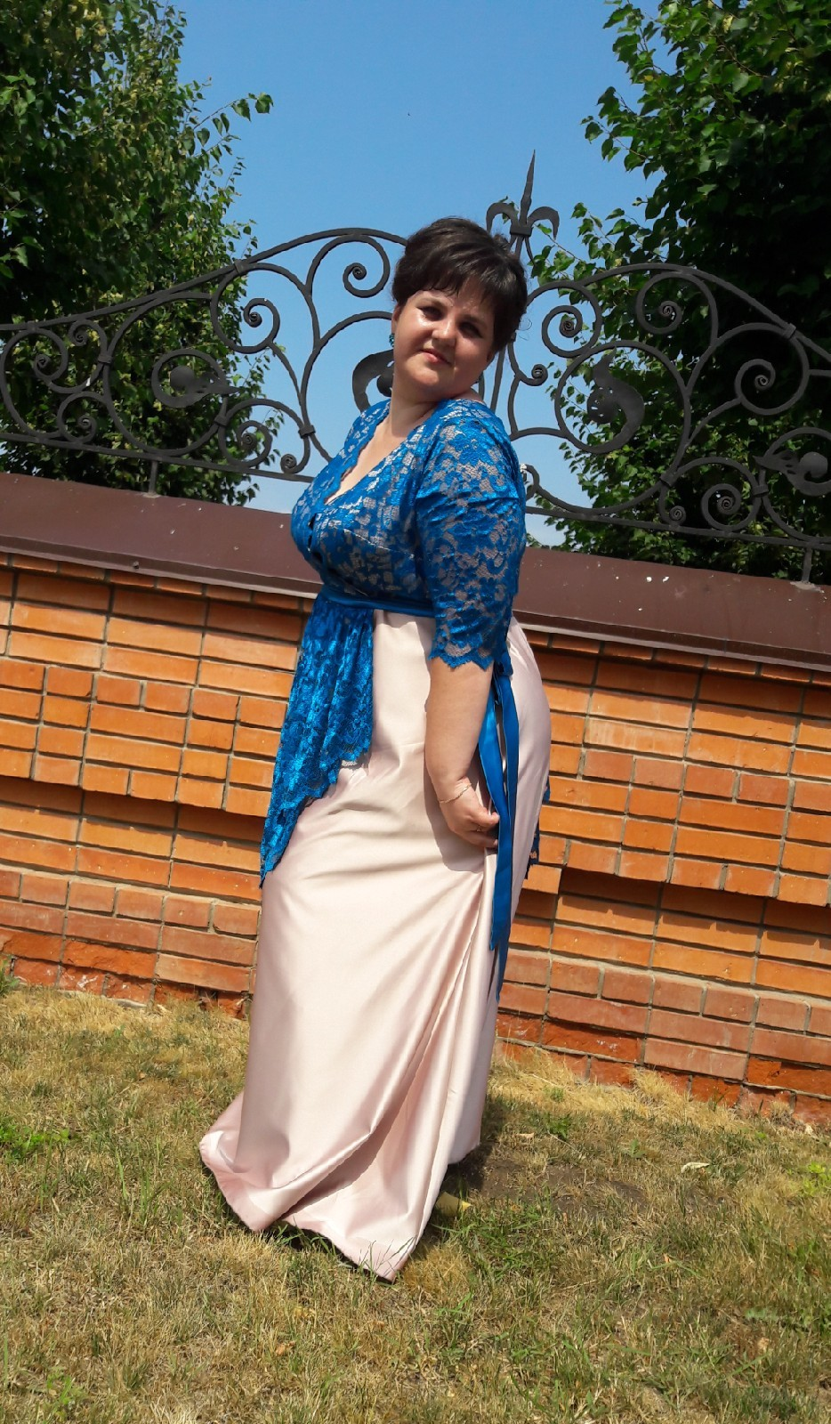 Прекрасная подружка невесты))) Красавица Надюша