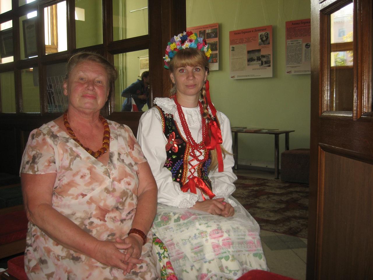 сектор организации досуга для детей, Донецкая республиканская библиотека для детей, лето с библиотекой, дни польской культуры, польское общество полония