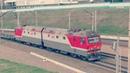 Пассажирские и грузовые поезда. Электропоезда