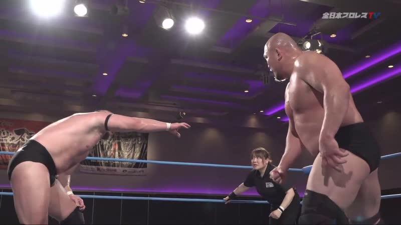 Dylan James vs. Yuji Okabayashi (AJPW Champion Carnival 2019 - Day 12)