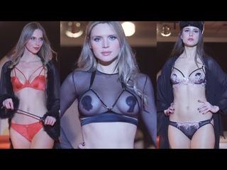Fashion show,sexy top models show bikini,показ нижнего белья,microbikini,мини бикини,микробикини