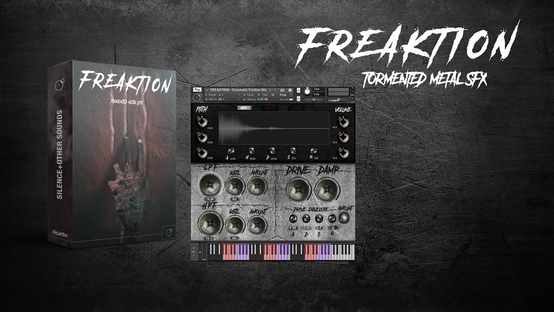 FREAKTION - Cinematic Horror Metallic Noises SFX Library - Kontakt Instruments walkthrough