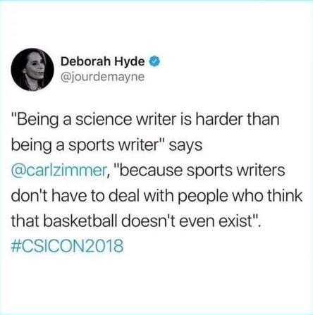 Наука vs спорт