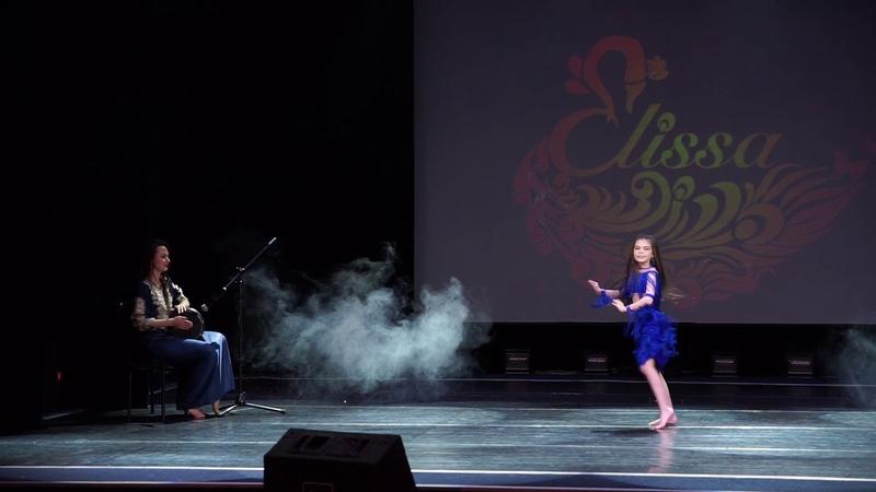 Алёна Воронцова табла. Отчетный концерт школы восточного танца Elissa 2019