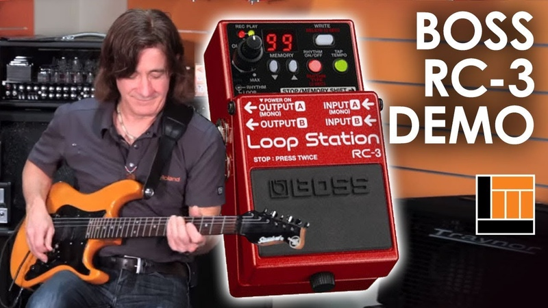 BOSS RC-3 Loop Station [Product Demonstration]