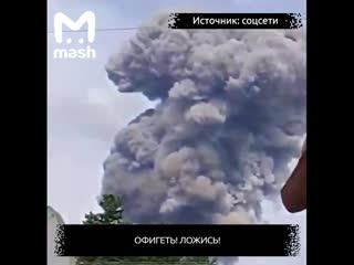 В Дзержинске сегодня прогремели два мощных взрыва на заводе Кристалл.