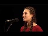 Синицына Полина (в начале видео) - V Всероссийский фестиваль вокально-хореографического искусства Траектория мысли (г.Заречный)