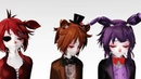 MMD FNAF Somebody that I used to know