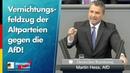 Vernichtungsfeldzug der Altparteien gegen die AfD Martin Hess AfD Fraktion im Bundestag