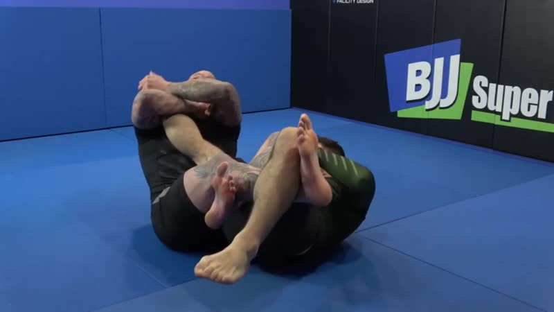 Neil Melanson - Rolling Knee Bar bjf_grappling