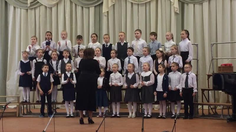 Вова Фарин в хоре 1 музыкальной школы им. Колесникова