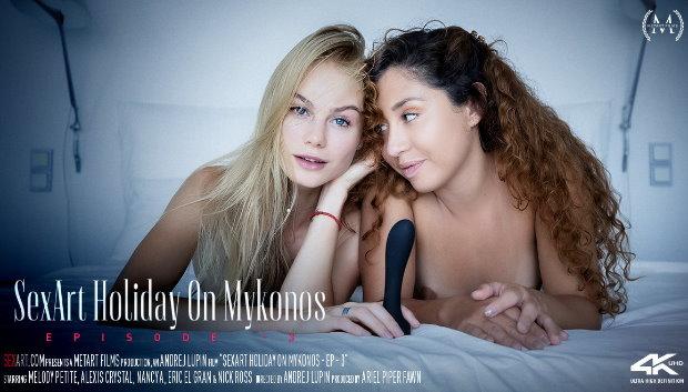 SexArt - SexArt Holiday On Mykonos Episode 3