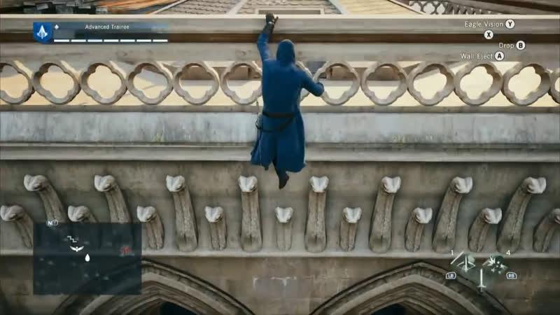 Нотр-Дам-де-Пари и Assassins Creed Unity