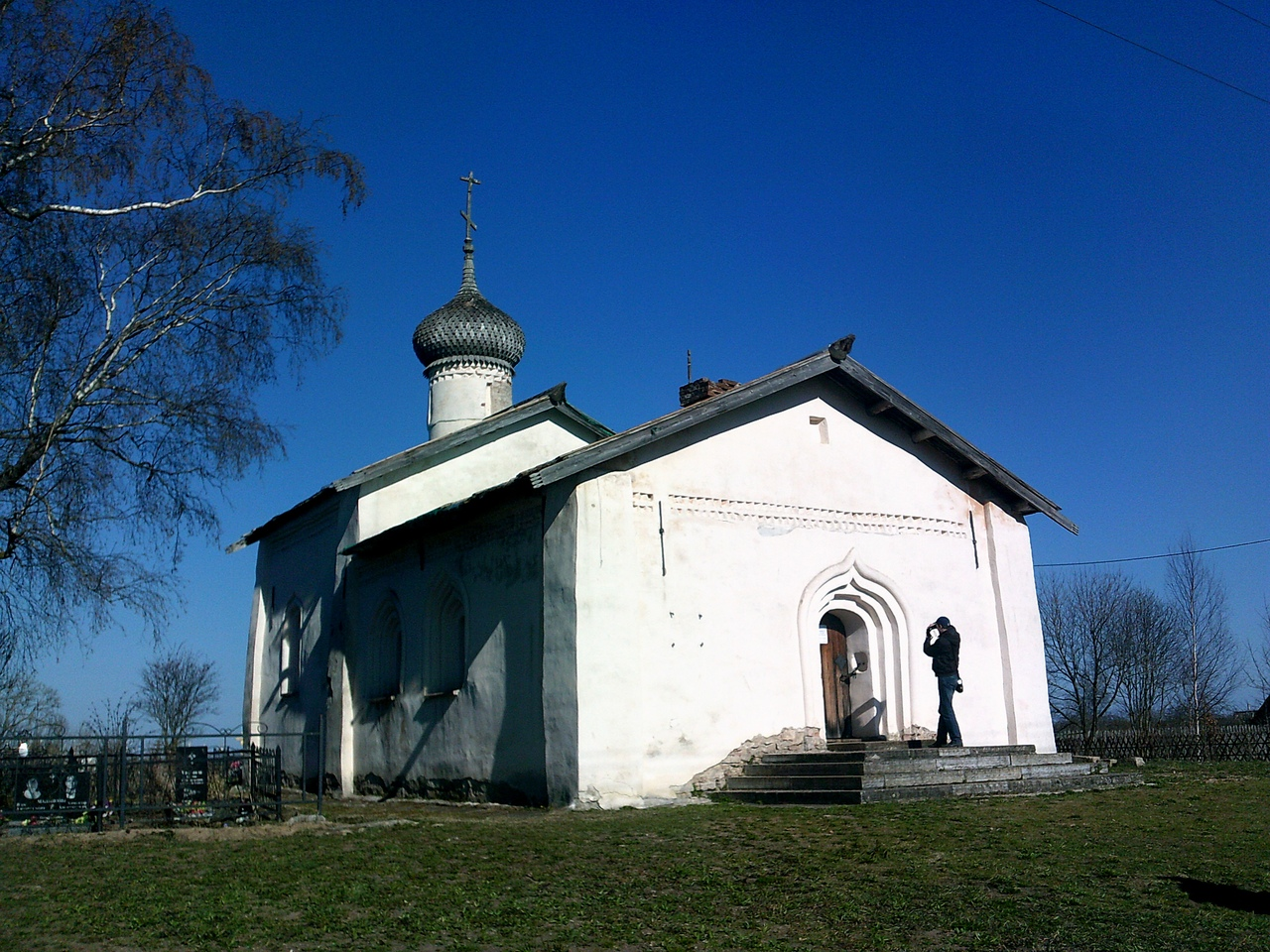 Вдоль берегов Волхова. Деревня Чернавино - родина художника Максимова