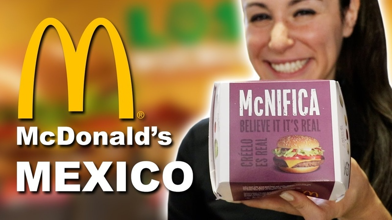 WE EAT McDONALDS IN MEXICO TOP 16 THINGS