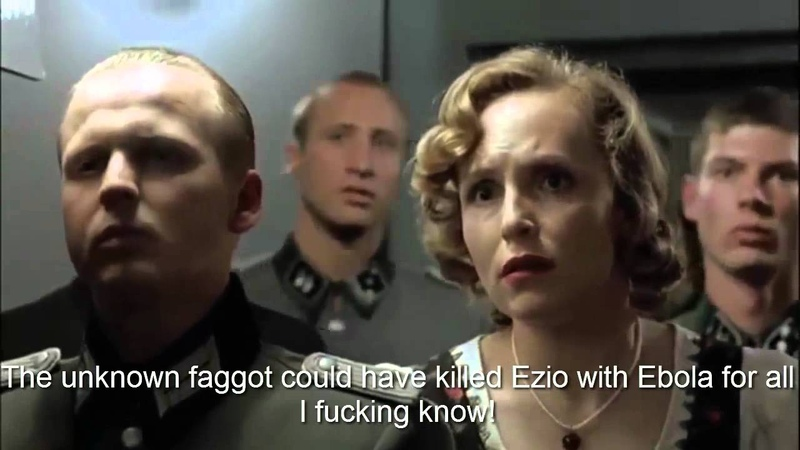 Hitler finds out that Ezio died