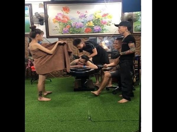 Em Gái Hỏa Thân Cho Thanh Niên Ngắm khI Xăm Để Giảm Đau. ∥Thọ Nguyễn Vlog