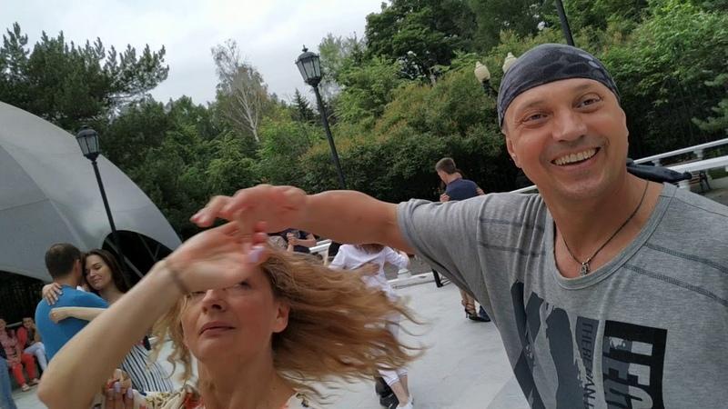 Nikolay Tatiana the style of dance Lambazouk Sokolniki Park Moscow 20190612 184050