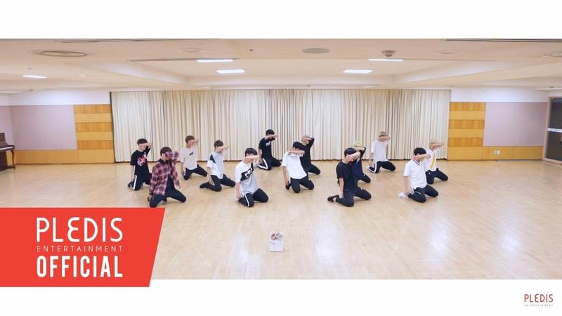 [Choreography Video] SEVENTEEN(세븐틴)-울고 싶지 않아(Dont Wanna Cry) Front Ver.