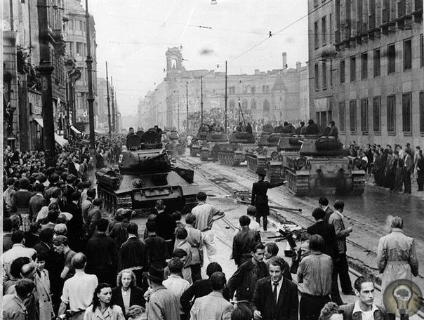 ВОССТАНИЕ В ГДР 17 ИЮНЯ 1953 ГОДА.