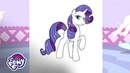 'How To Draw Rarity!' ✏️ Official Clip | MLP: Friendship is Magic