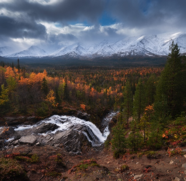 Осень в Хибинах