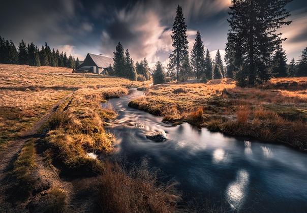 Хутор Йизерка, Йизерские горы, Чехия