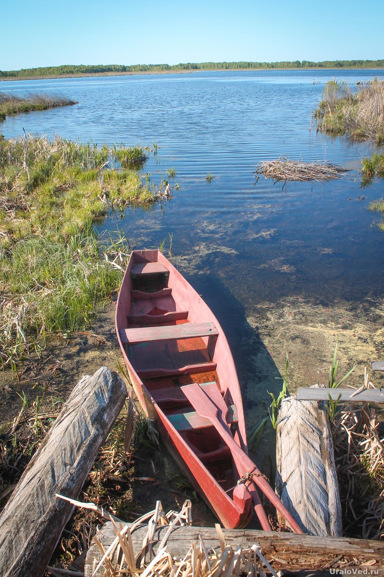 На озере Черкаскуль