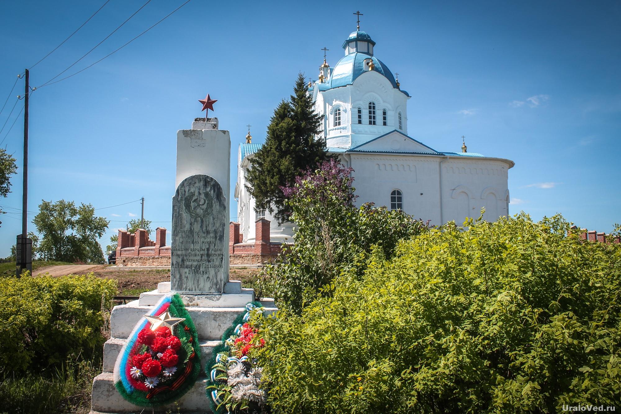 Церковь в селе Булзи
