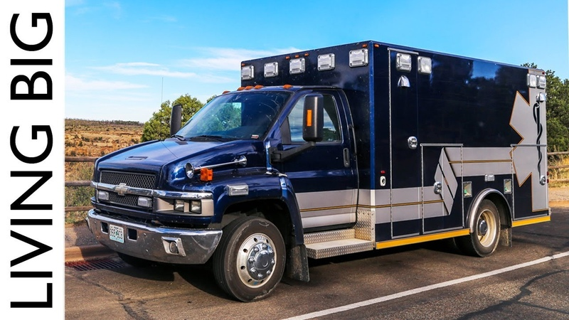Life On The Road In An Ex Ambulance Camper