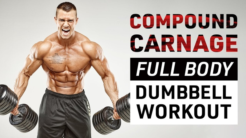 Compound Carnage: Full Body Dumbbell Workout!
