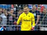 Подвиги Андрея Лунина против «Атлетико»
